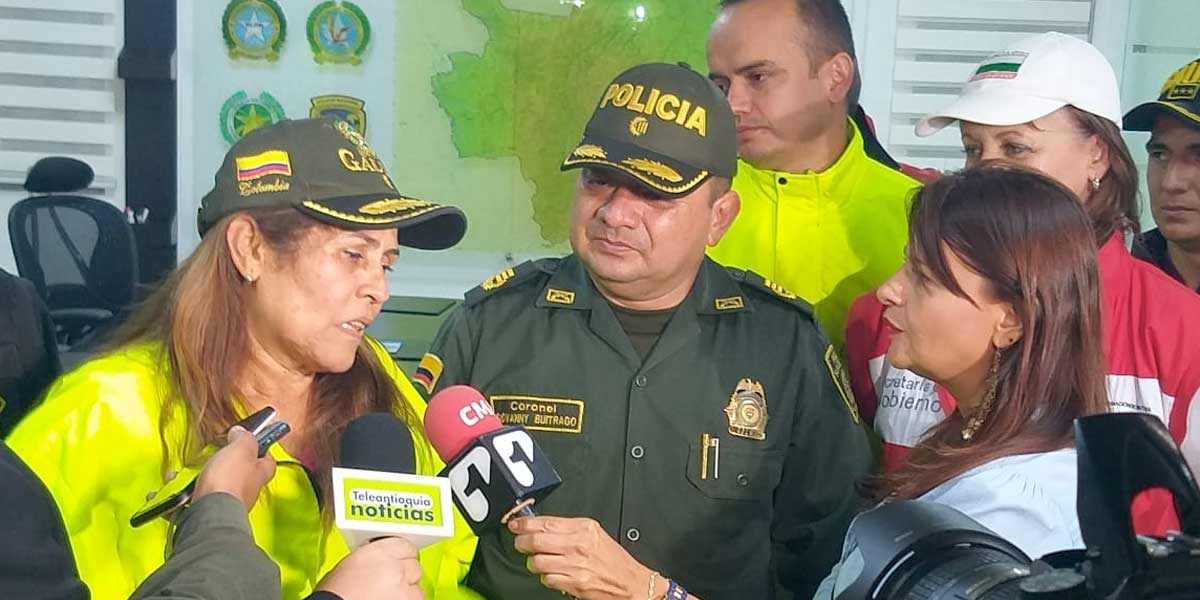 Policía libera a mujer de 63 años que estaba secuestrada en Cocorná, Antioquia