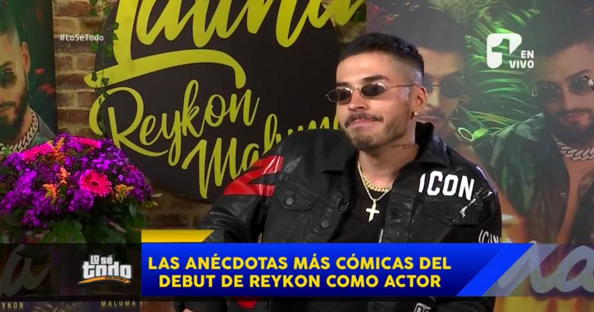 Las divertidas anécdotas de Reykon como actor