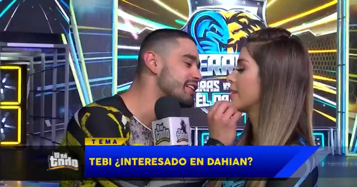 Dahian confirma que no ve a Tebi simplemente como amigo