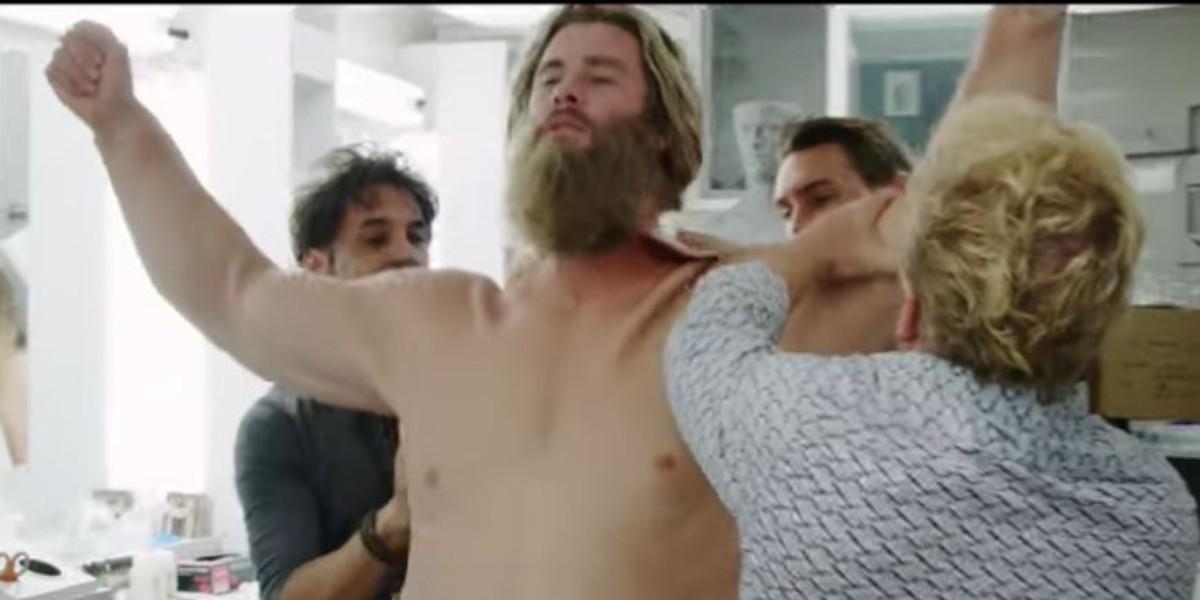 ¿Cómo fue el proceso para volver gordo a Thor en 'Avengers: Endgame'?