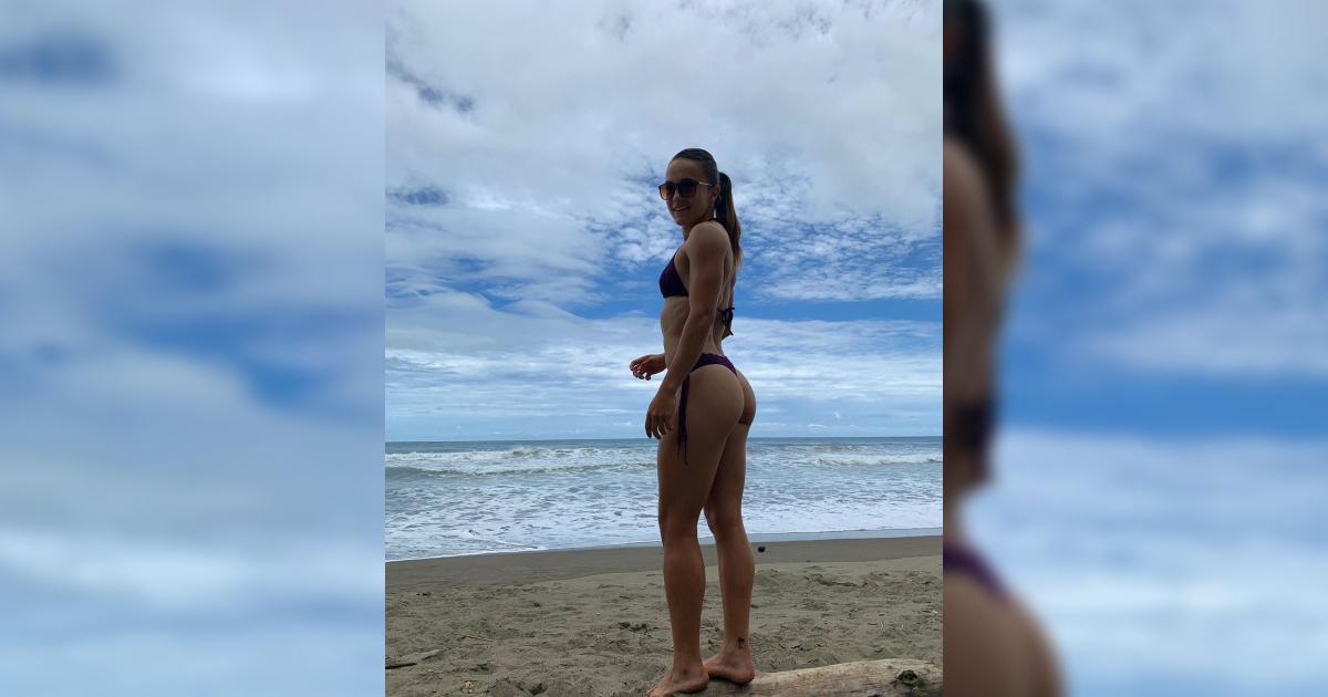 Exjugadora de Santa Fe que publicó foto en tanga y sin brasier armó tremenda polémica
