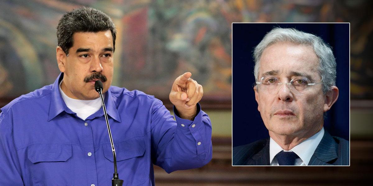 Maduro hace públicos detalles de supuesto plan del expresidente Uribe para asesinarlo