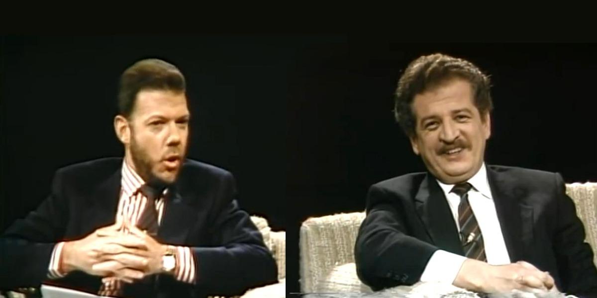 Una rareza en video: Juan Manuel Santos entrevistando a Luis Carlos Galán