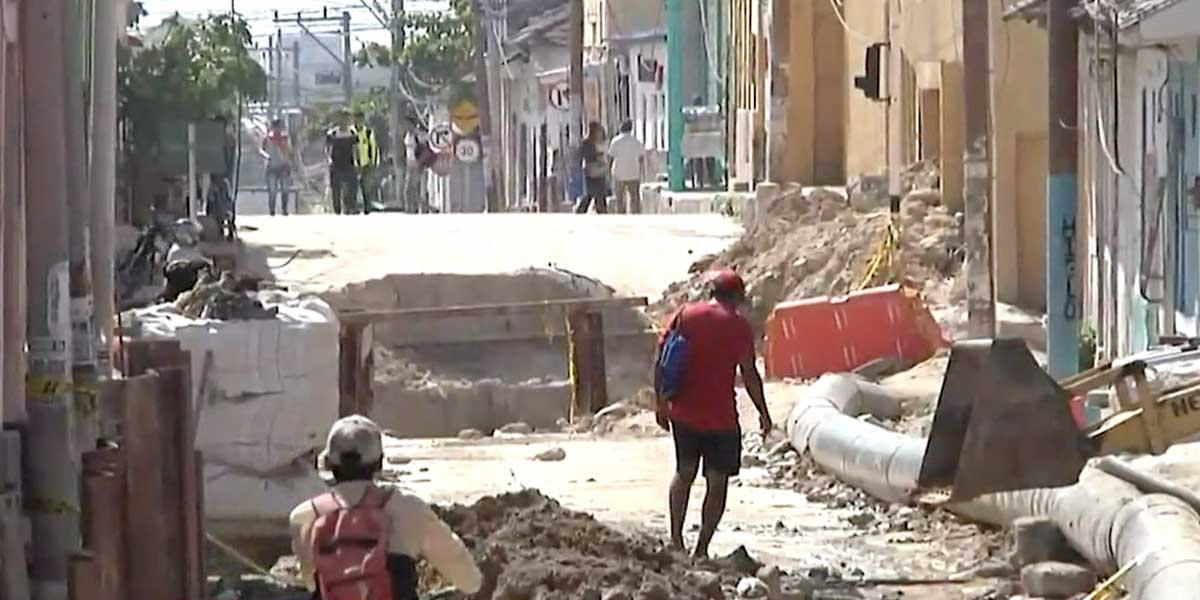 El arroyo Hospital de Barranquilla sigue en veremos después de más de un año de retrasos
