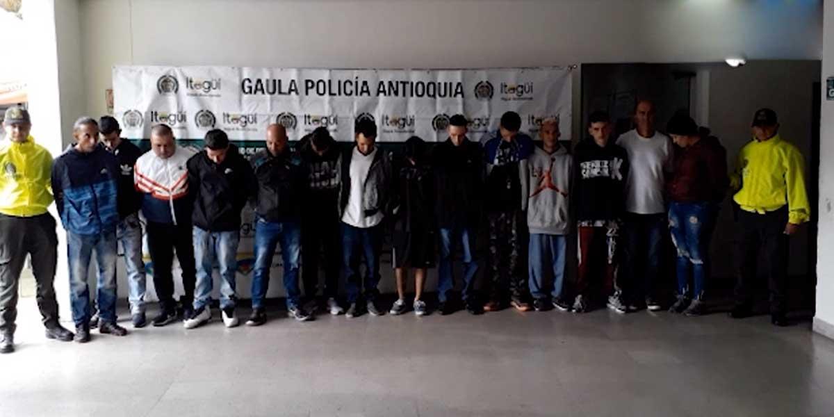 Ofensiva contra la extorsión: 140 capturas en 22 departamentos del país