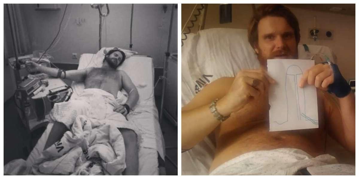 Este cantante se inyectó una droga que le ha dejado una erección de más de dos semanas