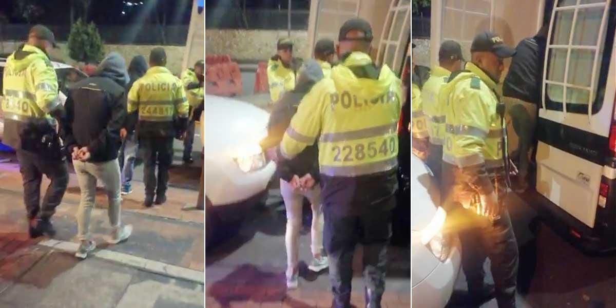Padre, madre e hijo de 15 años fueron capturados robando en restaurante de Chapinero