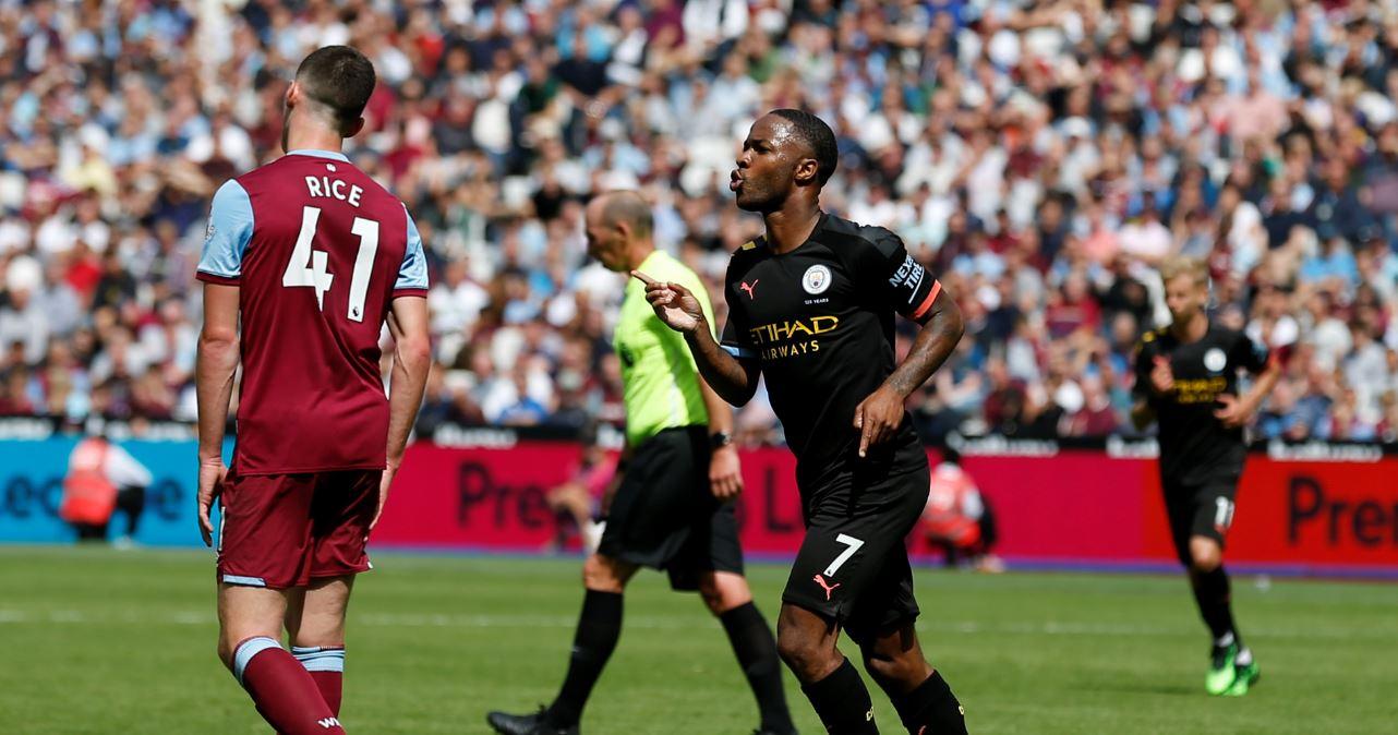 Triplete de Sterling para goleada del City ante el West Ham del colombiano Carlos Sánchez