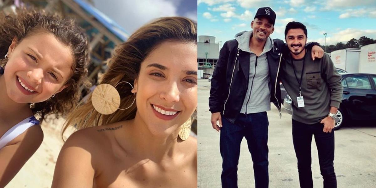 Daniela Ospina publica una romántica foto junto a su novio