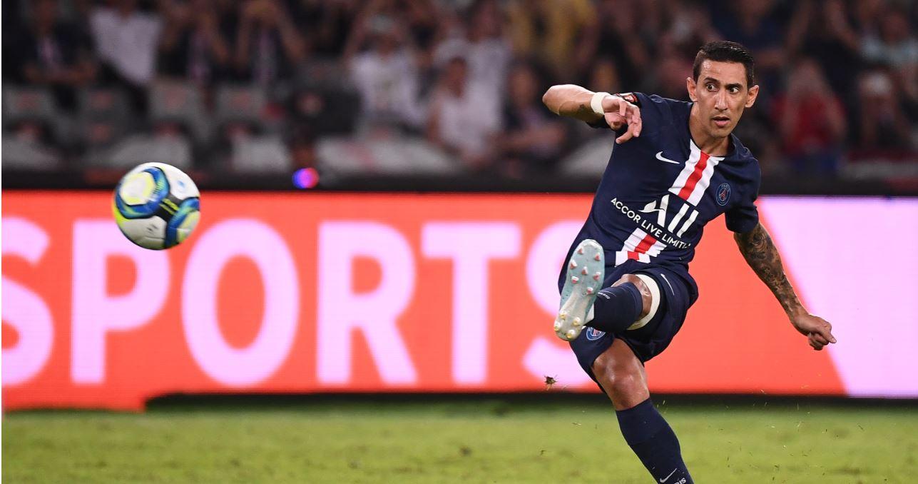Con golazo de Di María, PSG se consagró campeón de la Supercopa de Francia