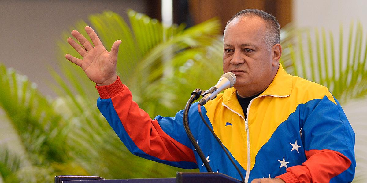 Venezuela no apoya el rearme de exjefes de las Farc, dice Diosdado Cabello