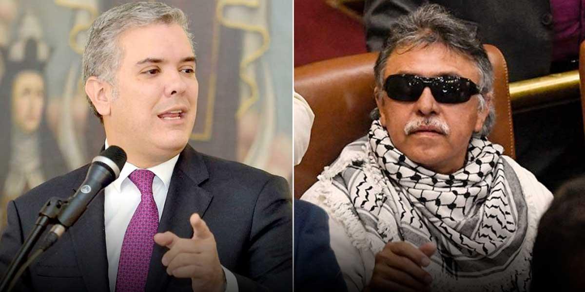 Duque espera que con circular de Interpol el mundo sepa que Santich es «un mafioso»