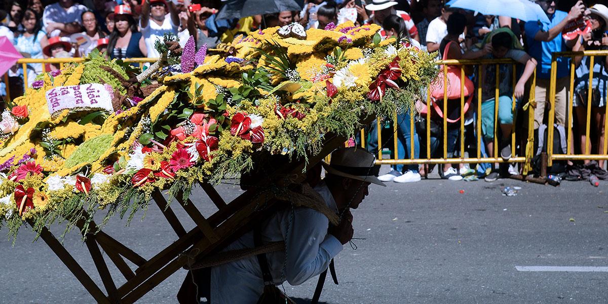Inicia la edición 62 de la Feria de las Flores en Medellín