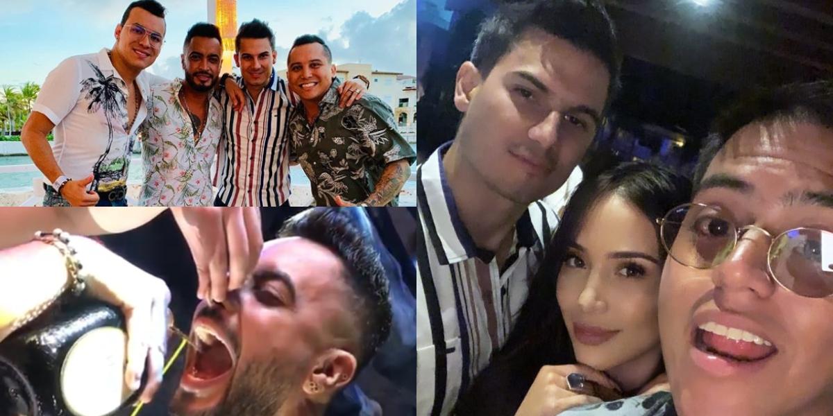 La fiesta que se «pegaron» Yeison Jiménez, Pipe Bueno y Jhon Alex Castaño