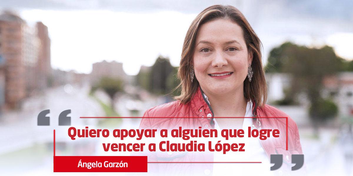 Ángela Garzón se suma a campaña de Carlos Fernando Galán por la Alcaldía de Bogotá