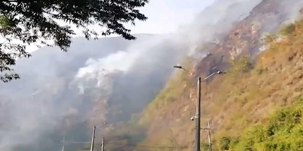 Medellín también está en riesgo de incendios forestales
