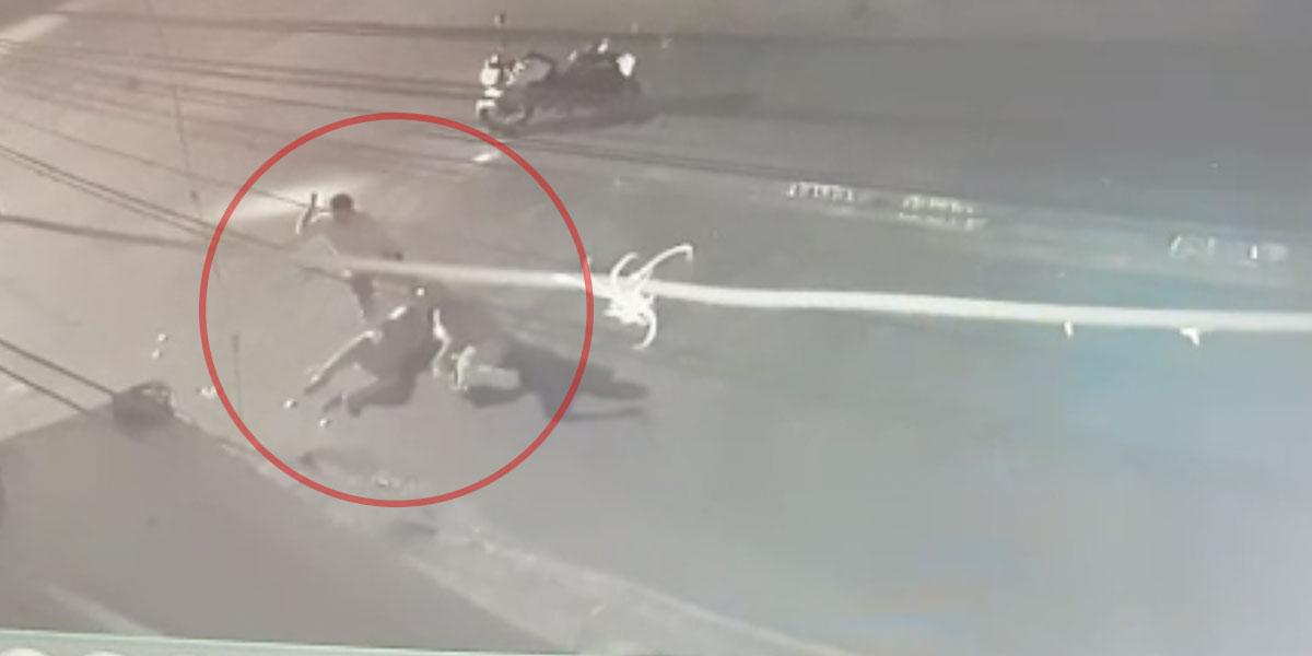 Video   Asaltantes asesinaron a esposa del imitador de Pipe Bueno. Un atacante también murió