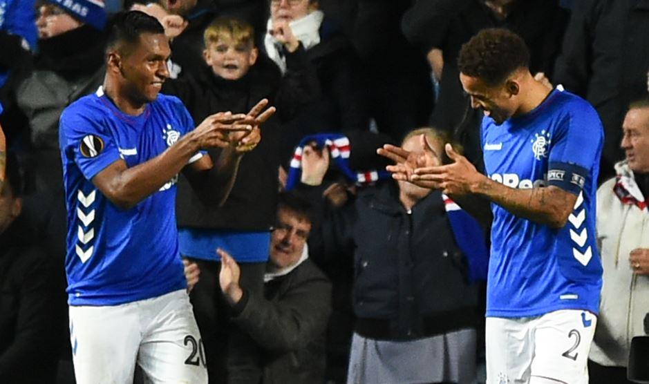 Doblete de Alfredo Morelos le dio clasificación al Rangers en fase previa de Europa League