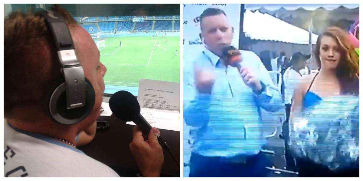 """""""La 'people' bien?"""" El video del periodista deportivo que hizo 'el oso' por entrevistar muy mal en inglés"""
