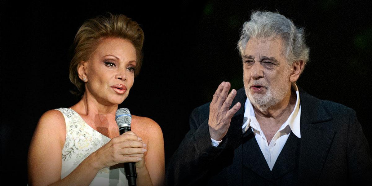 'Plácido Domingo ha sido siempre un caballero conmigo': Paloma San Basilio