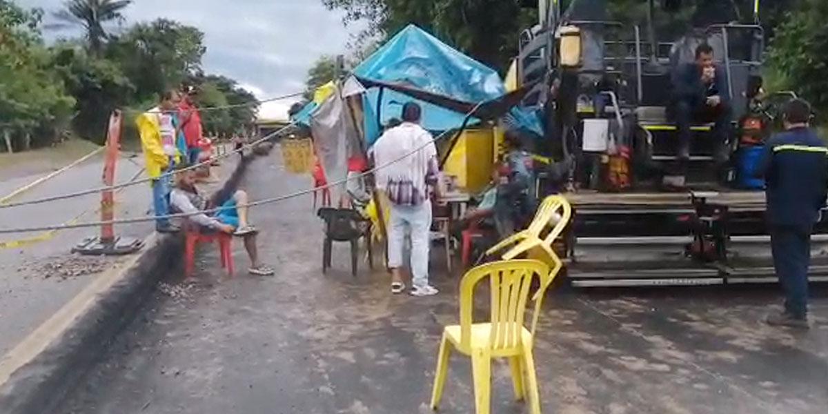 Las obras inconclusas de la Ruta del Sol que tienen en protesta a los habitantes de Puerto Araujo