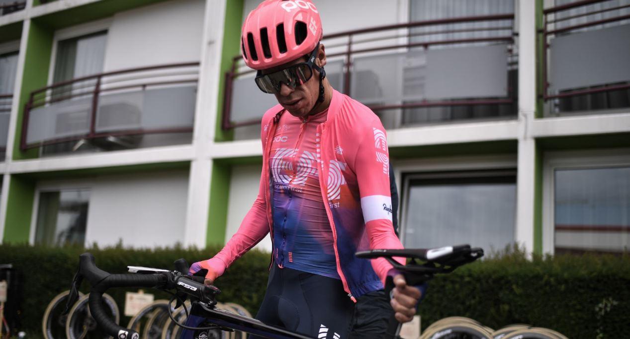¡Volvió! Rigoberto Urán se subió nuevamente a la bicicleta luego de tres meses