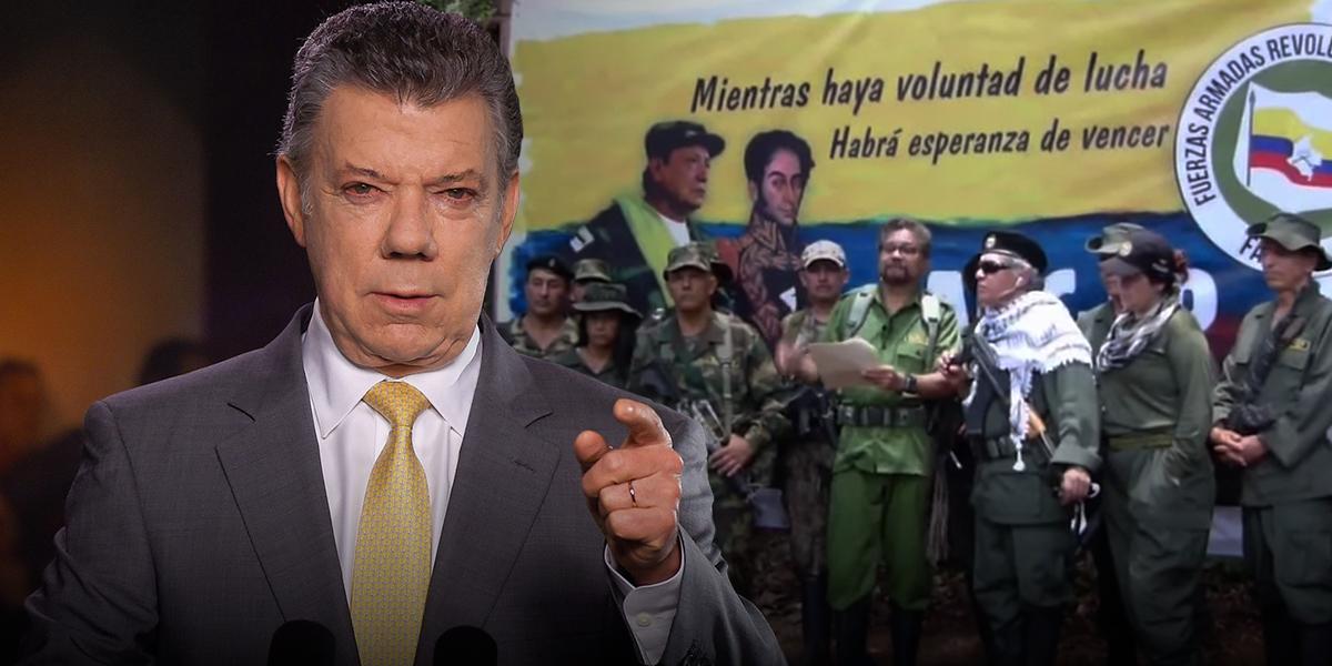 Contundente respuesta del expresidente Santos sobre rearme de Márquez y Santrich