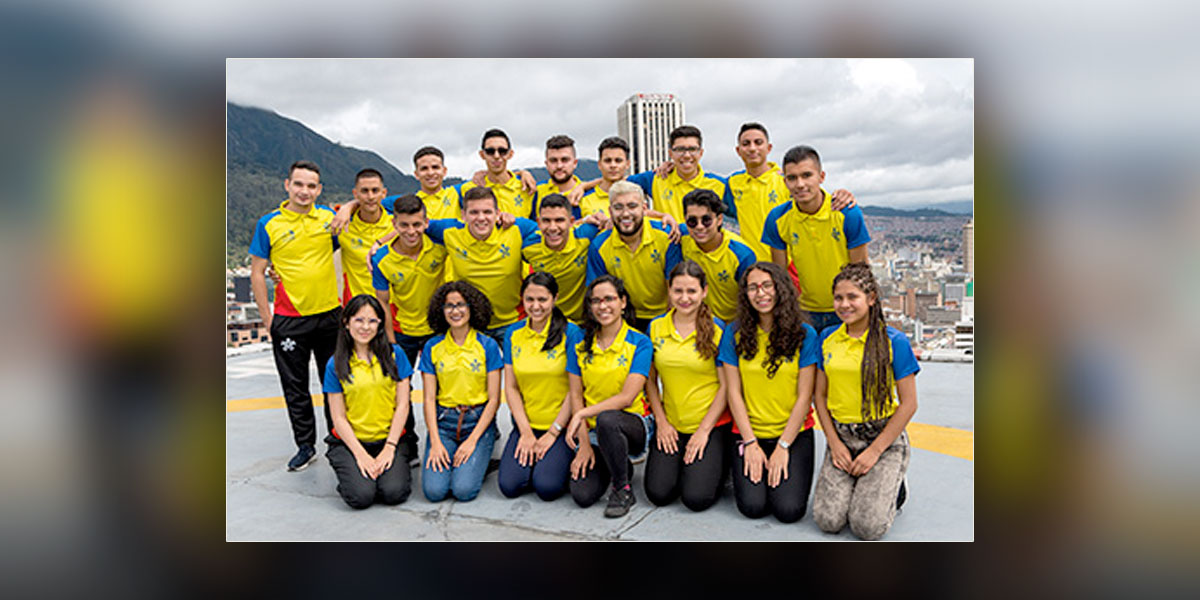 Veinticuatro jóvenes del Sena representarán a Colombia en 'el mundial de habilidades'