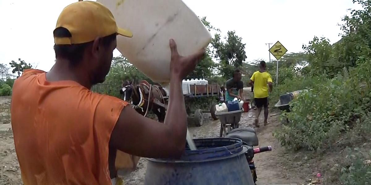 El corregimiento de Palermo, Magdalena, lleva ocho días sin agua