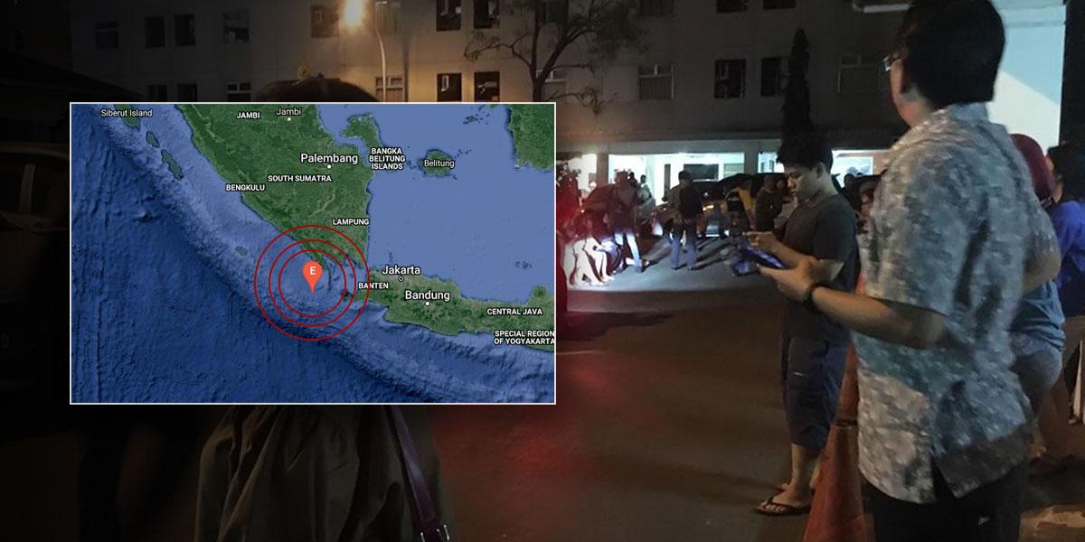 Terremoto de magnitud 6,8 sacude las islas de Java y Sumatra en Indonesia