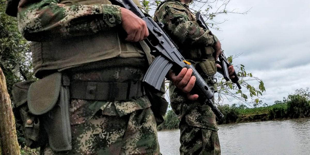 Cuatro soldados heridos por ataque en Hacarí, Norte de Santander
