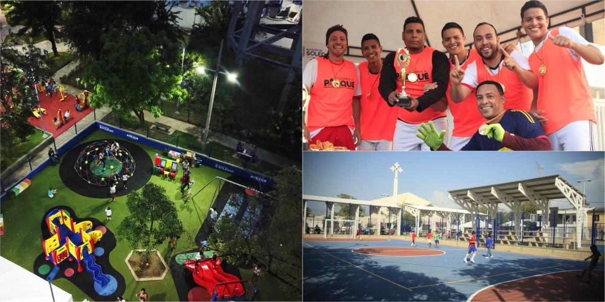 soledad municipio costa caribe parques obras publicas alcaldia