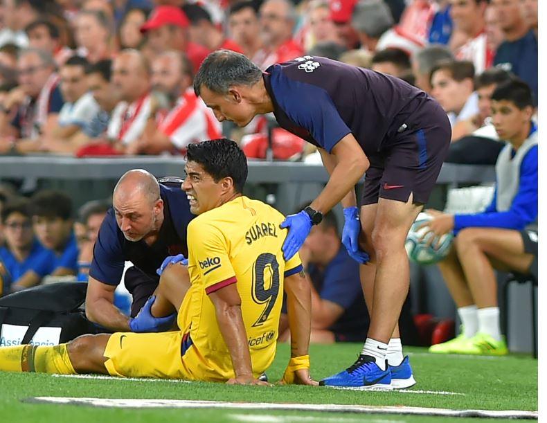 Siguen las malas noticias para el Barcelona; se confirmó la lesión de Luis Suárez