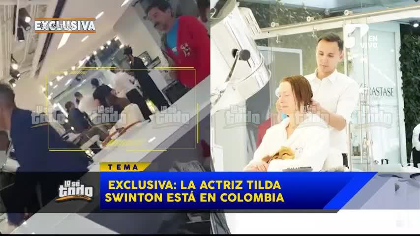 """La estrella de Hollywood Tilda Swinton está en Colombia y """"Lo Sé Todo"""" te cuenta por qué"""
