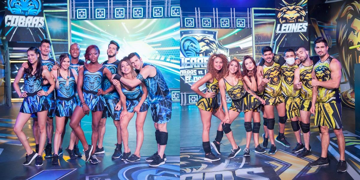 Vota por el mejor baile y dale puntos a tu equipo en 'Guerreros'