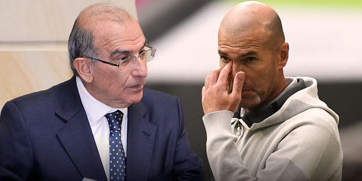 Humberto de la Calle terminó en la TV española dando explicaciones por el tema Zidane-James