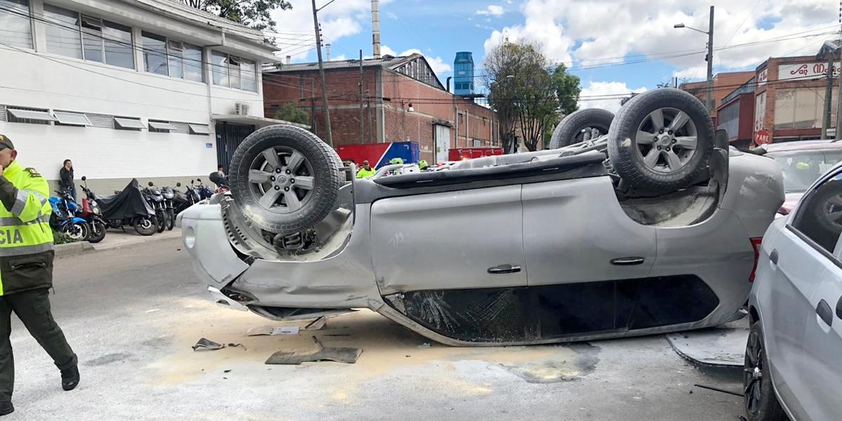 Conducir bajo los efectos del licor, principal causa de accidentalidad en Bogotá