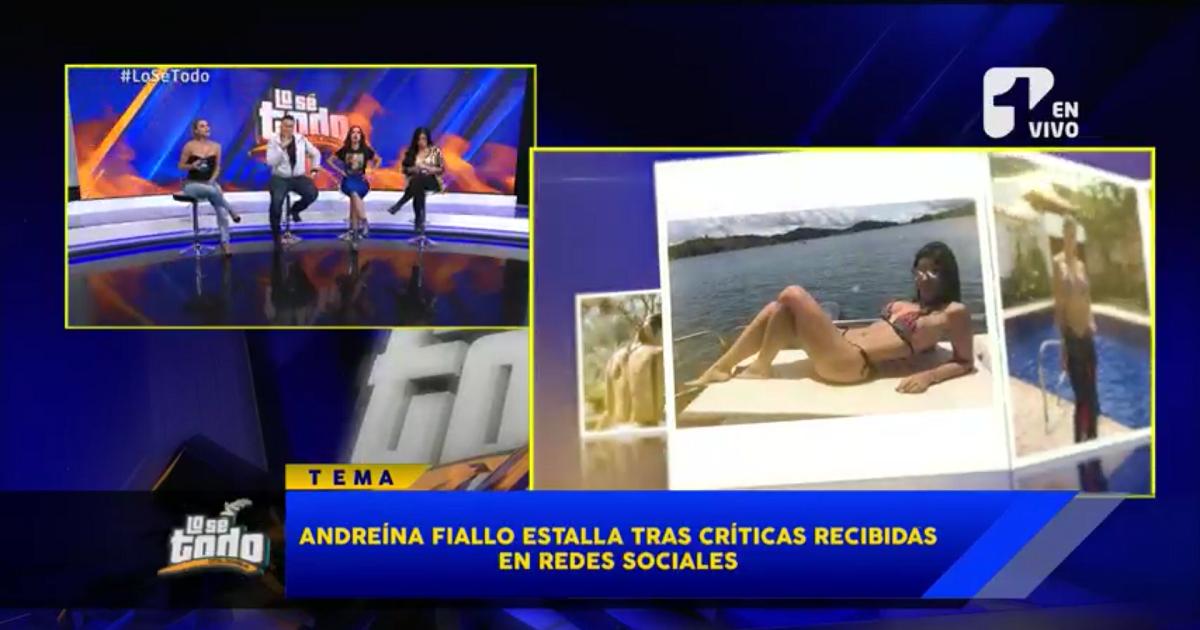 Andreína Fiallo estalla y le responde a seguidora que criticó foto de sus hijos en redes