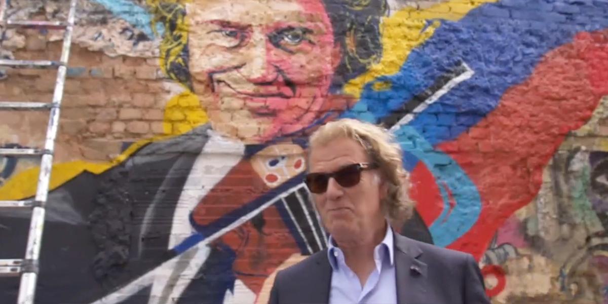 Así fue el recorrido del violinista André Rieu por el centro de Bogotá