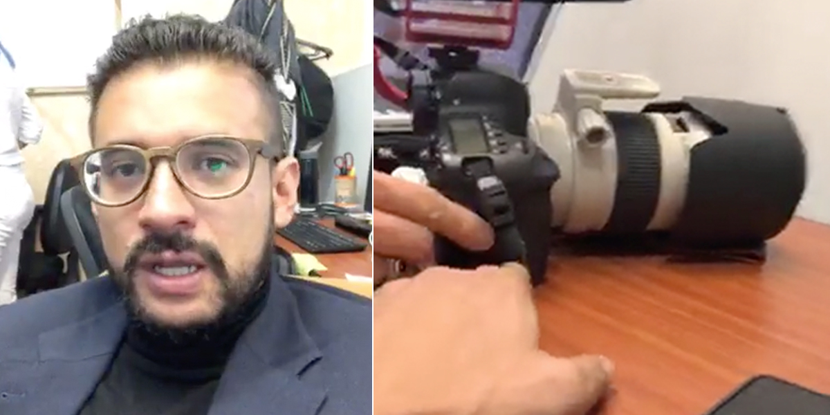Inti Asprilla denuncia que se le robaron un celular y una memoria en su oficina del Congreso
