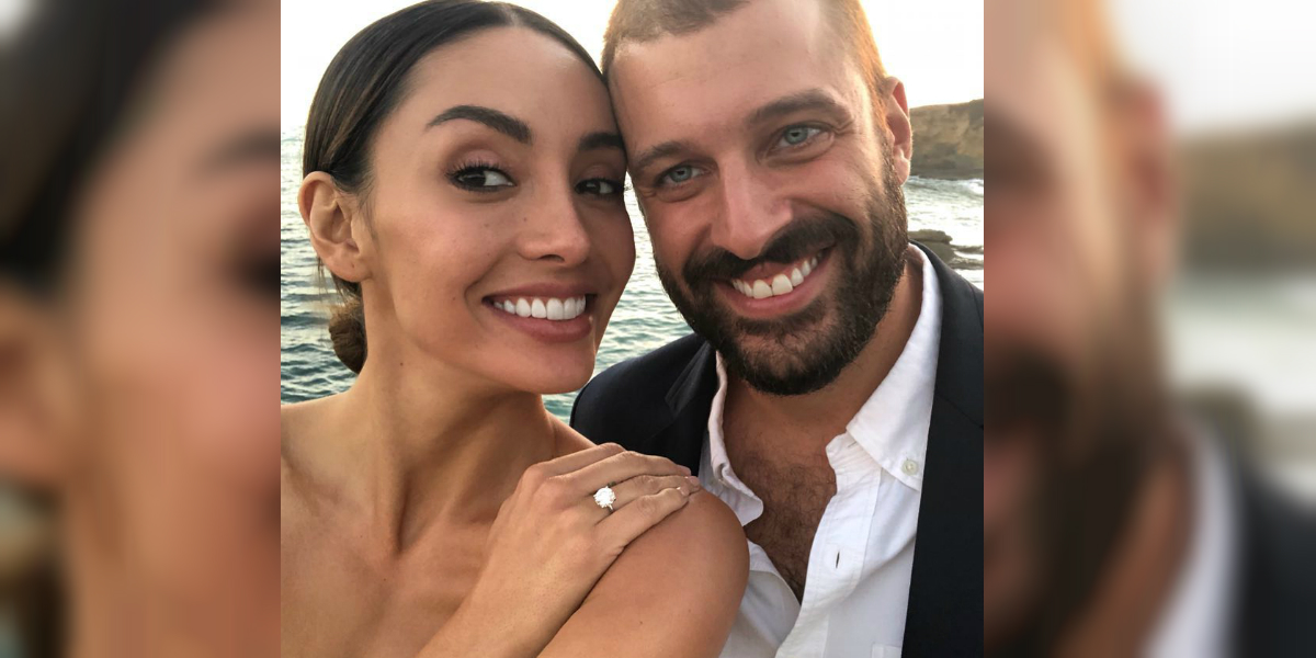 Se conocen las primeras imágenes de la segunda boda de Carolina Guerra y David Reuben
