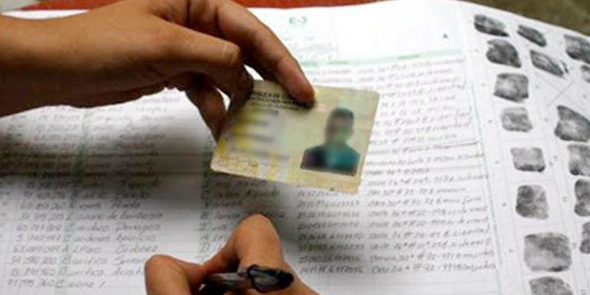 Alertan por posible fraude en inscripción de cédulas