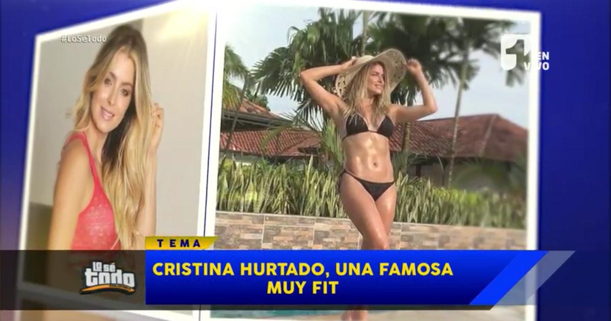 El secreto de Cristina Hurtado para tener ese cuerpazo (y no es solo gimnasio)