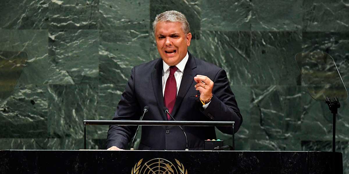 Duque denunciará a Venezuela ante ONU por incumplir resolución sobre lucha contra el terrorismo