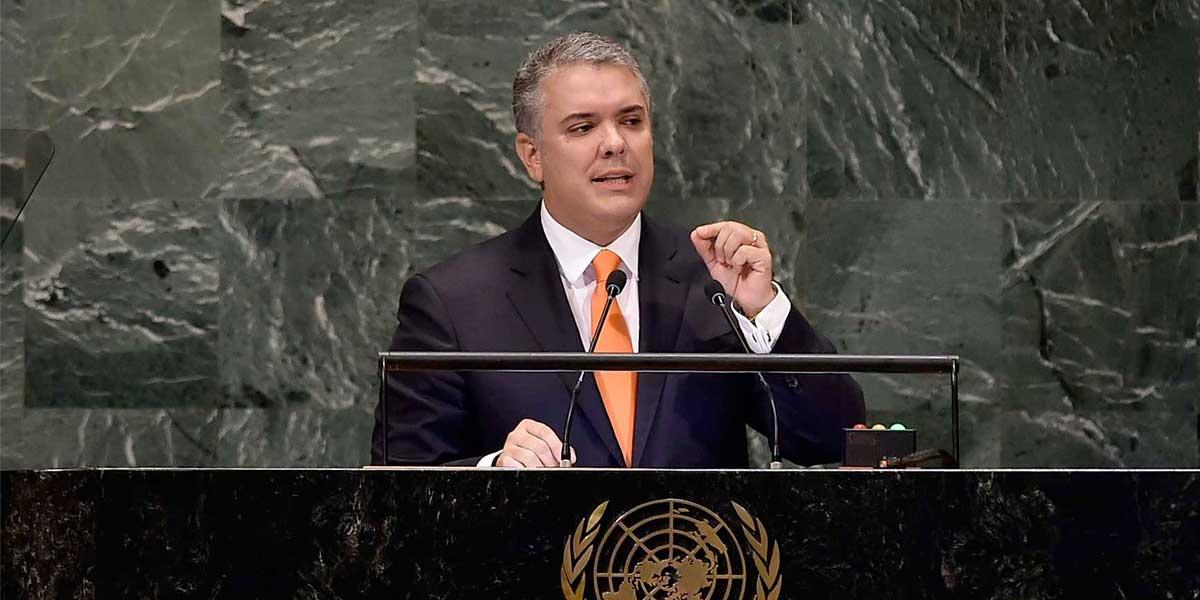 Estados Unidos respalda conclusiones del presidente Duque en Naciones Unidas