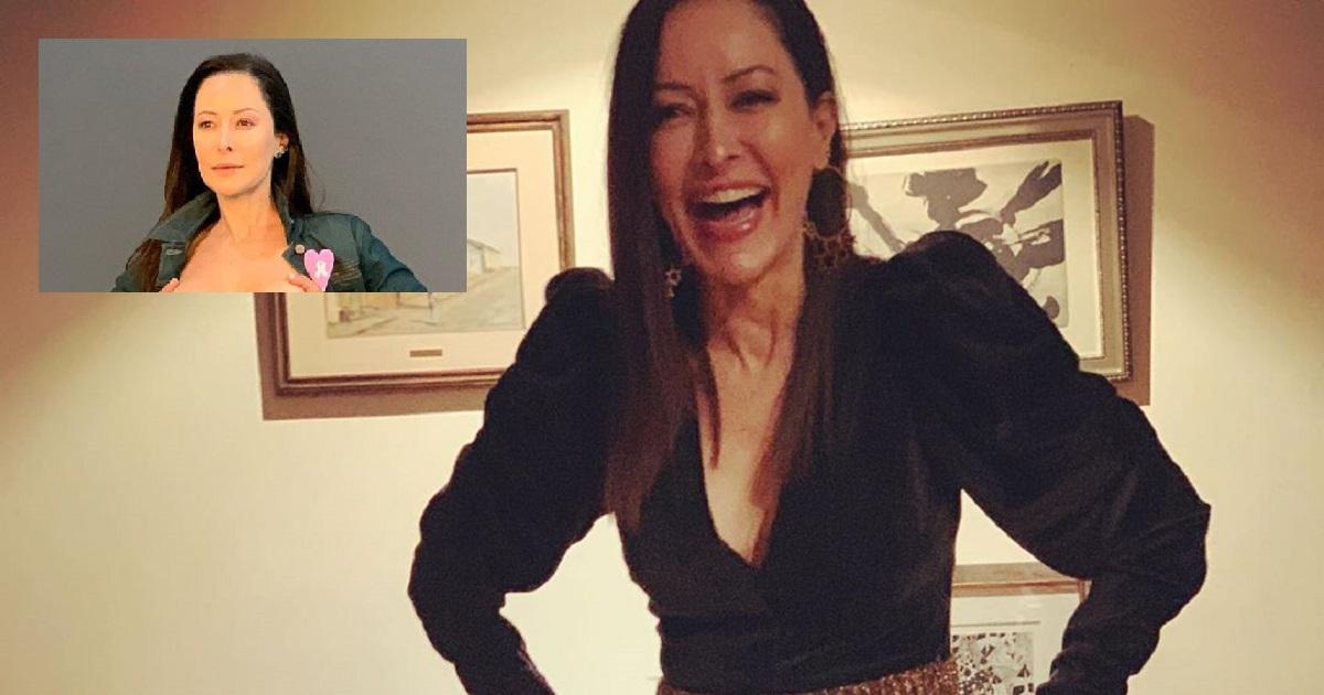 Flavia Dos Santos muestra a plenitud sus senos por una noble campaña
