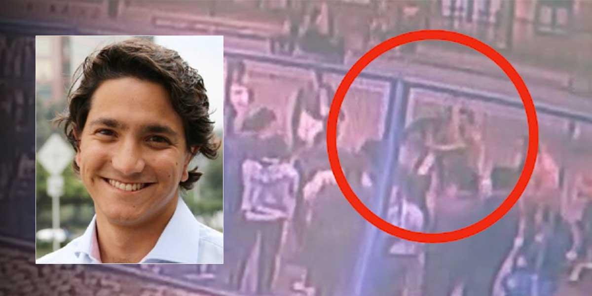 Hombre agredió a candidato al Concejo de Bogotá y lo dejó inconsciente por un minuto