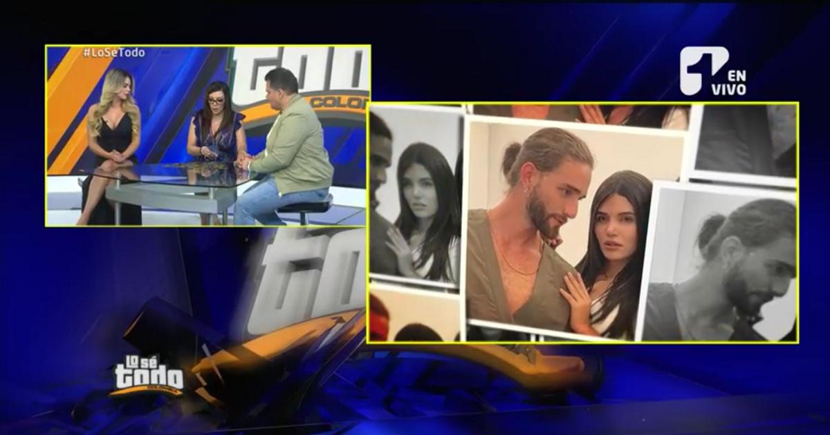"""""""Mara y Nicolás se van a casar"""": Deseret Tavares"""