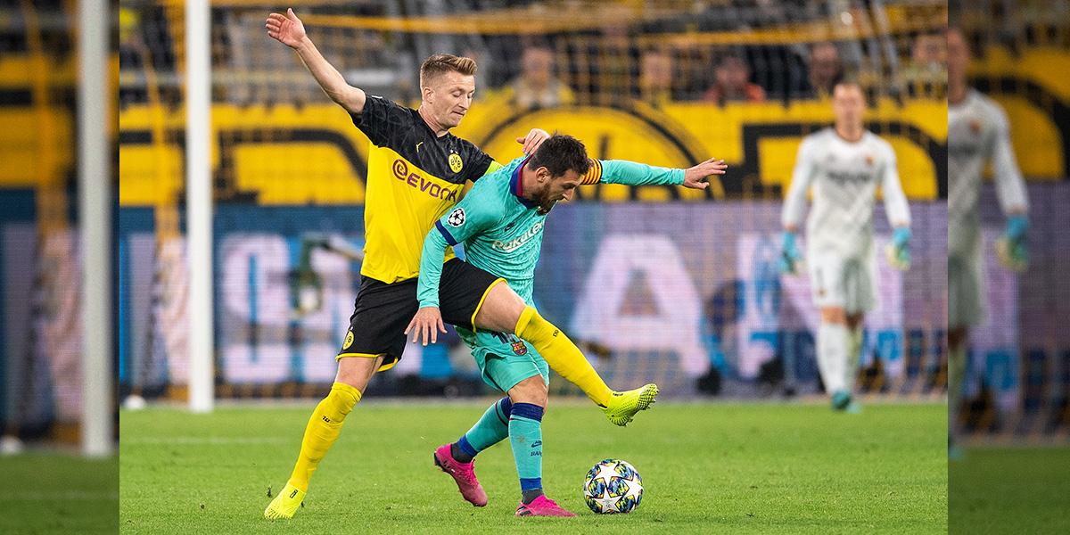 Así fue el regreso de Messi con un Barcelona que igualó frente al Borussia Dortmund