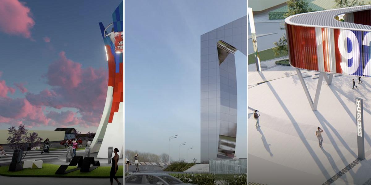Barranquilleros escogerán entre estos tres diseños el nuevo monumento del Junior en la ciudad